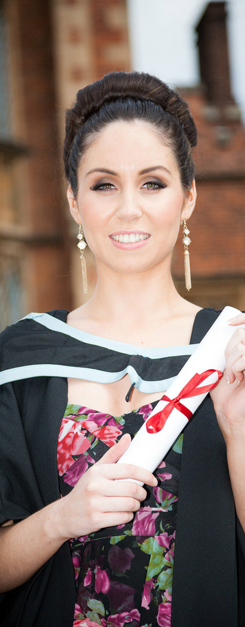Graduation Photography Queens Belfast