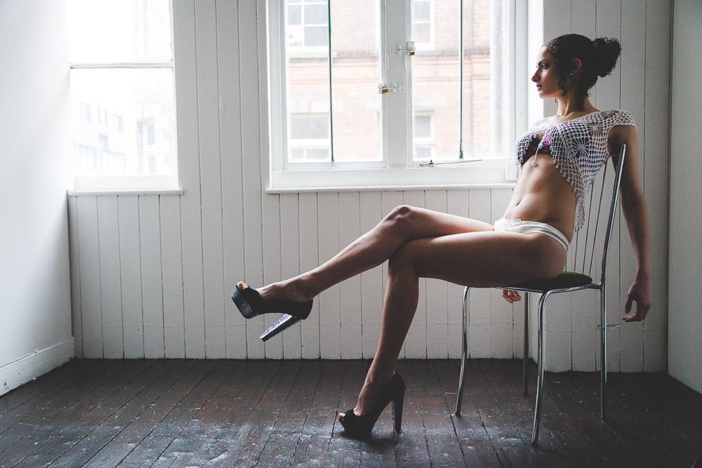 Studio Photography Girl