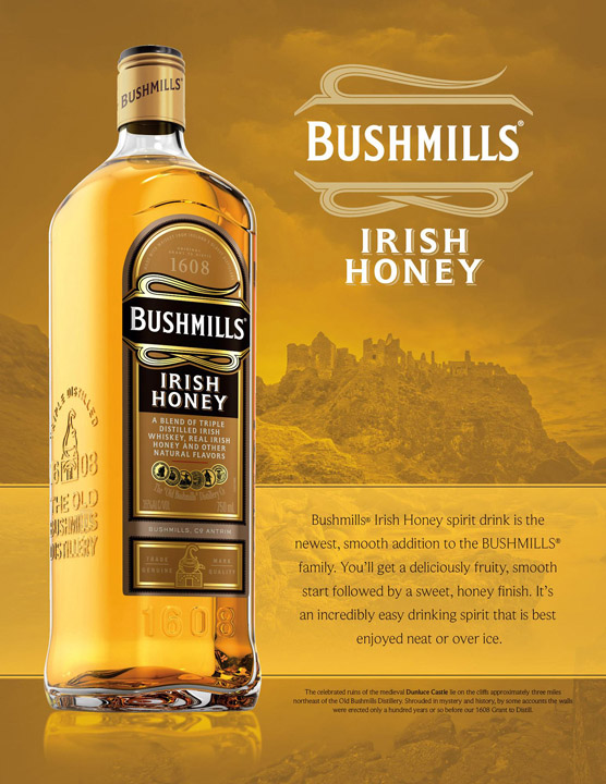 Landscape Photography for Bushmills Whiskey