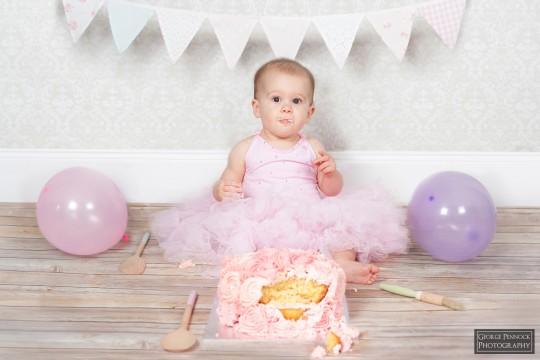 Cake Smash Baby Photography Belfast