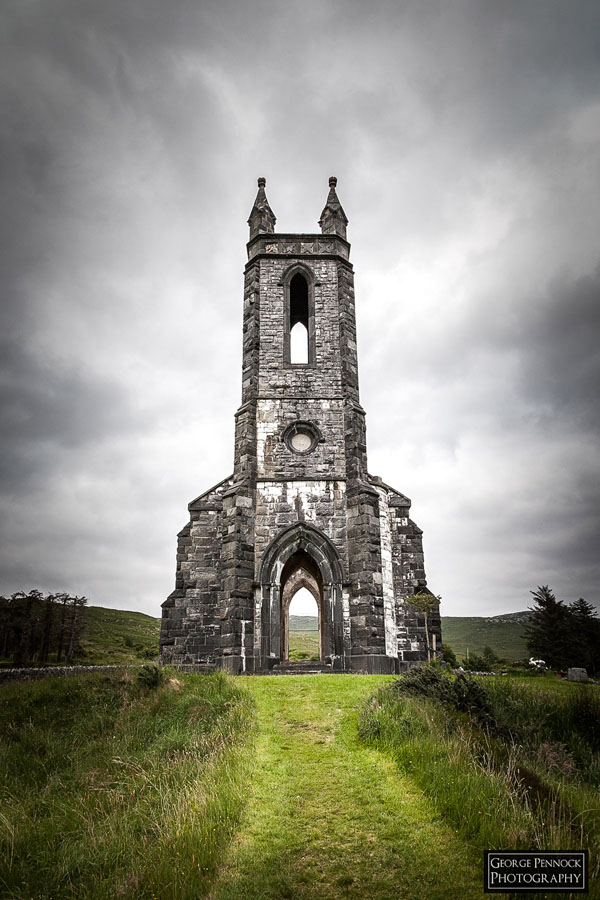 Northern Ireland Photographer - Dunlewy Church