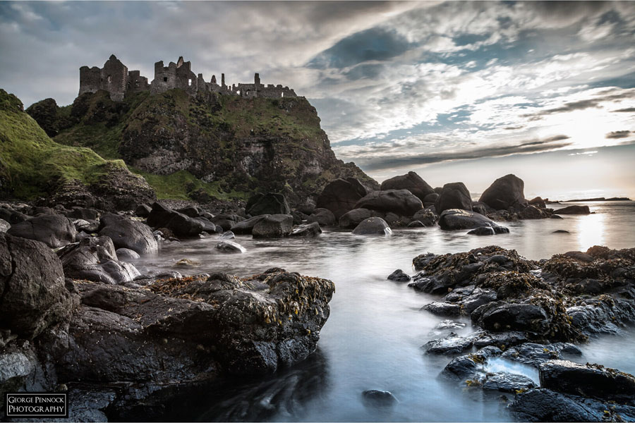 Northern Ireland Photographer - Dunluce Castle 2