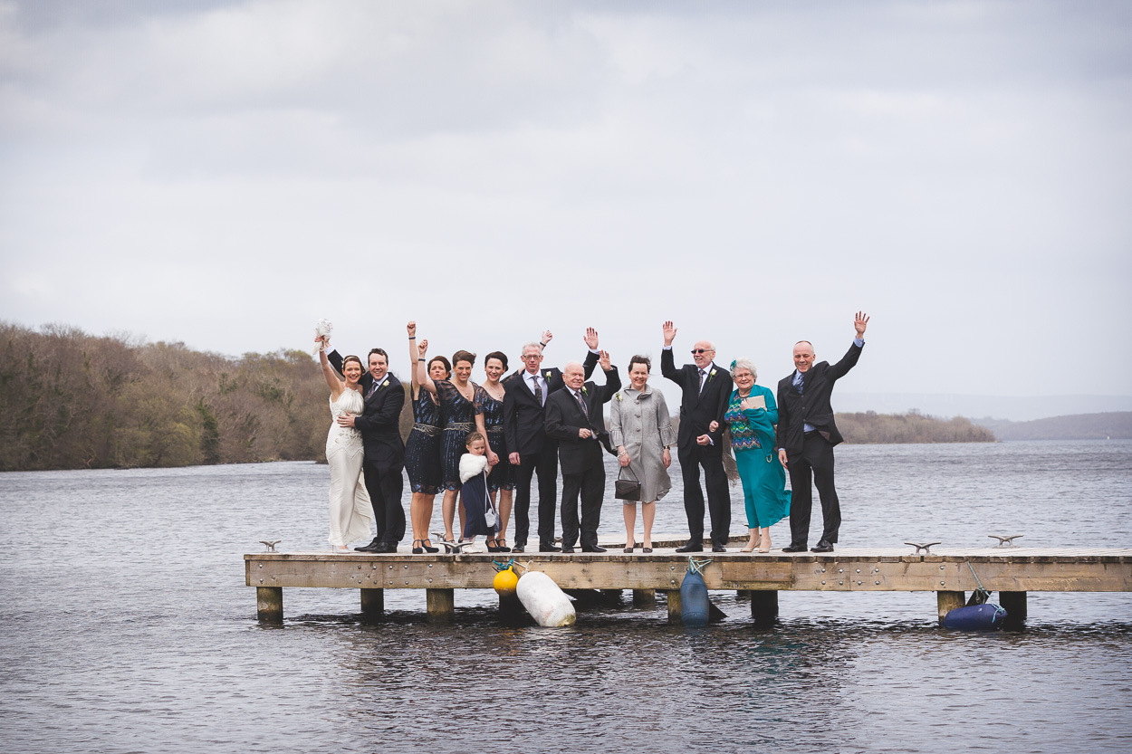 Lusty Beg Wedding Family