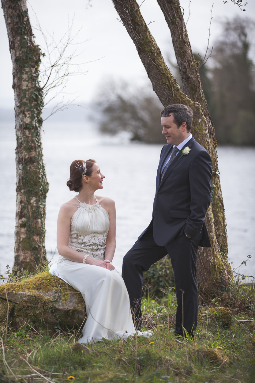 Lusty Beg Wedding Bridal Portraits
