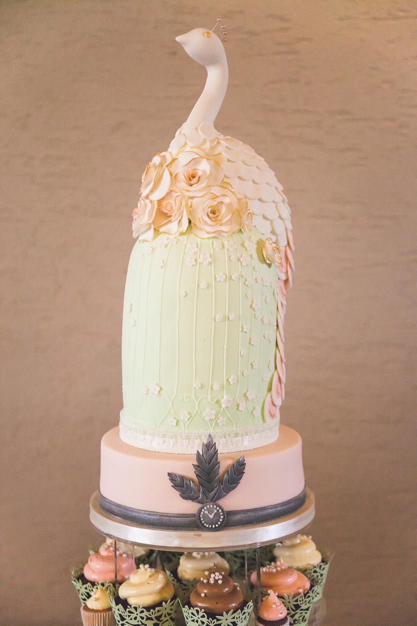 Lusty Beg Wedding Cake