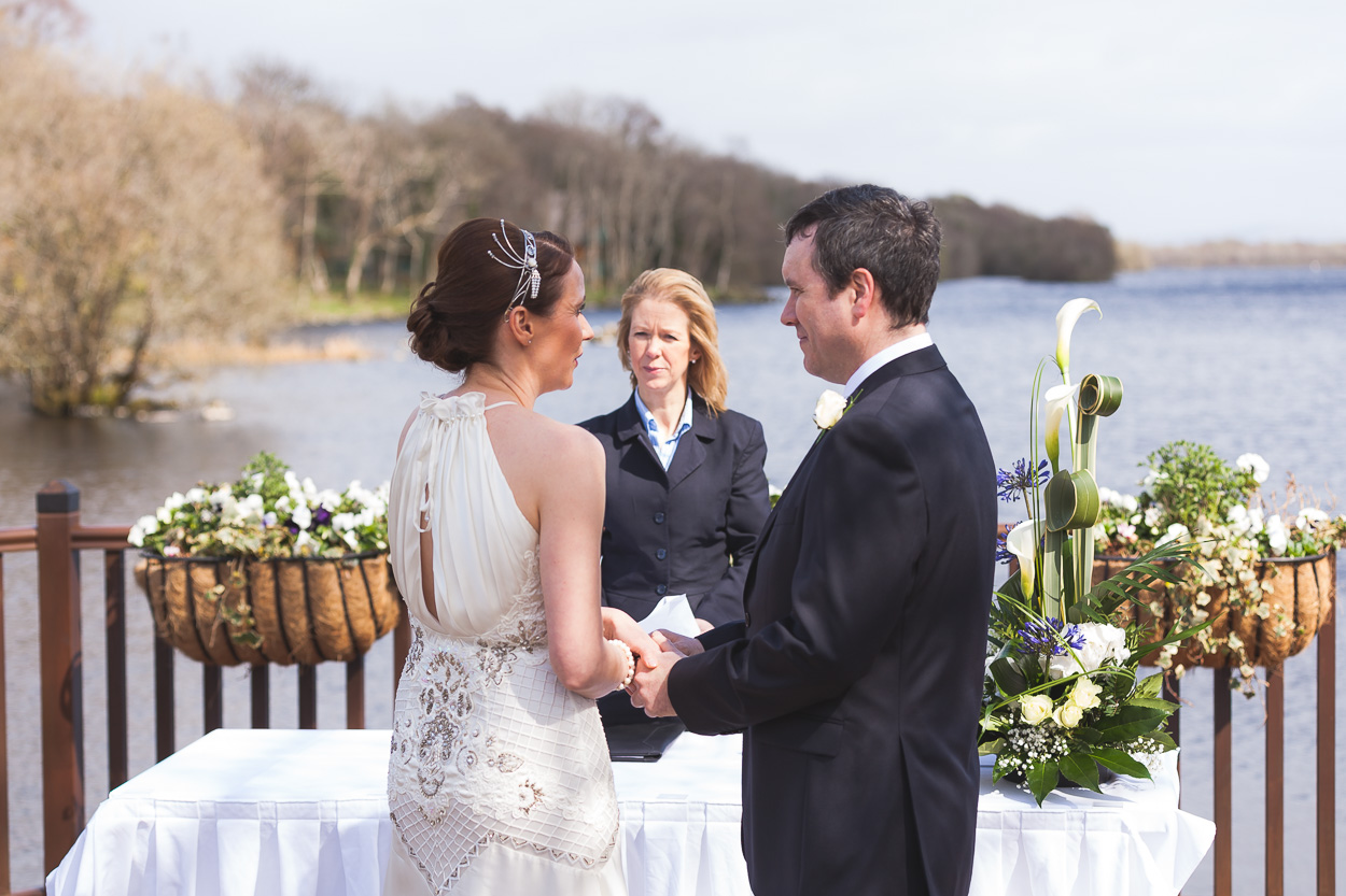 Lusty Beg Wedding Ceremony
