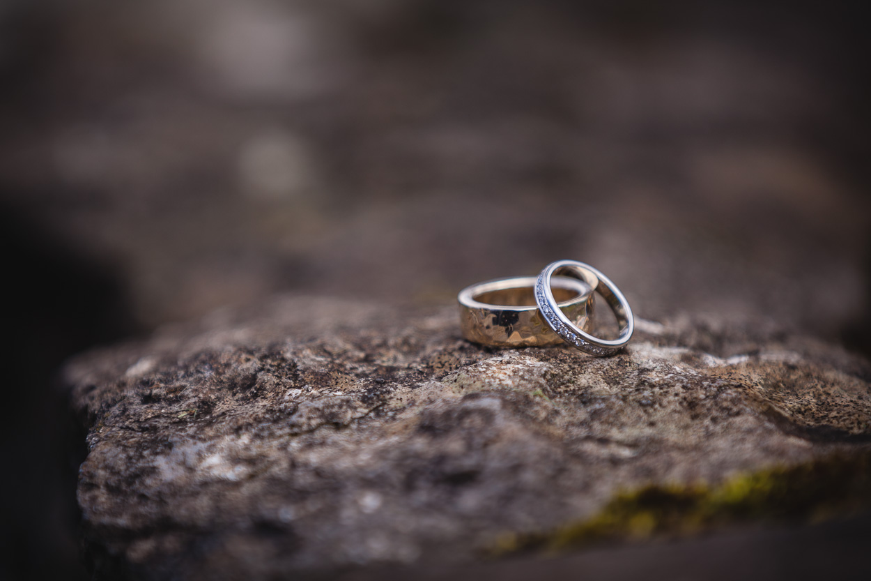 Ember Wedding Rings