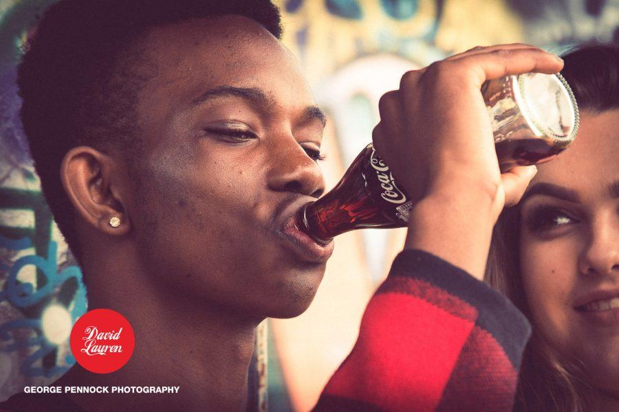 Coke Themed Love Shoot