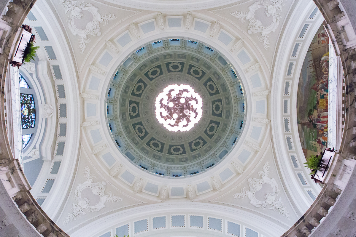 Belfast City Hall Wedding Ceiling Dome