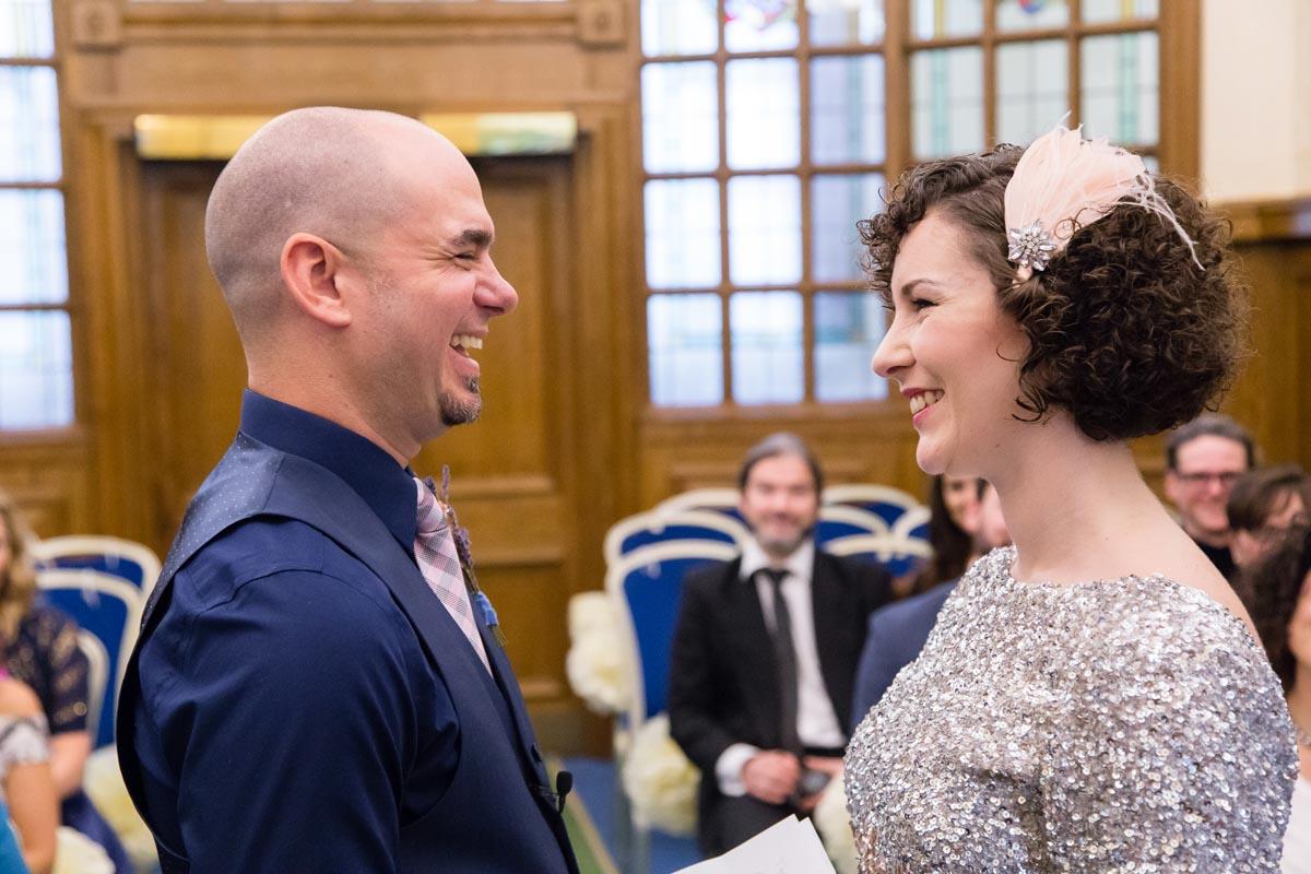 Belfast City Hall Wedding Ceremony