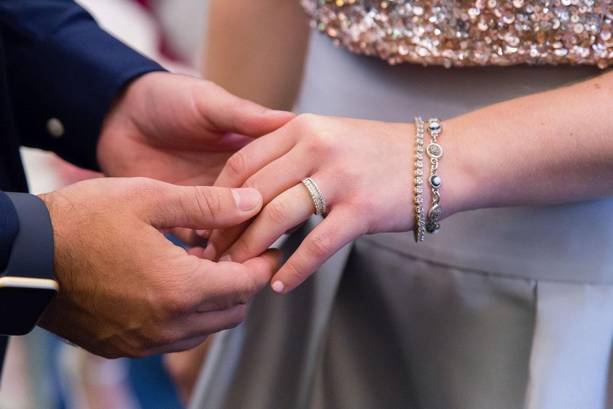 Belfast City Hall Wedding Ceremony Rings