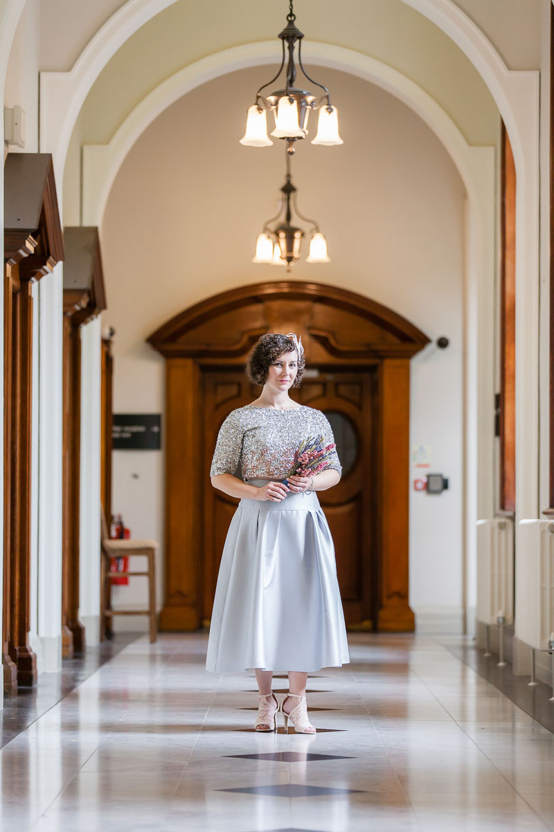 Belfast City Hall Wedding Bride