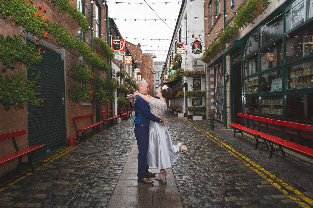 Duke Of York Belfast Wedding Photographer Tara and Ryan