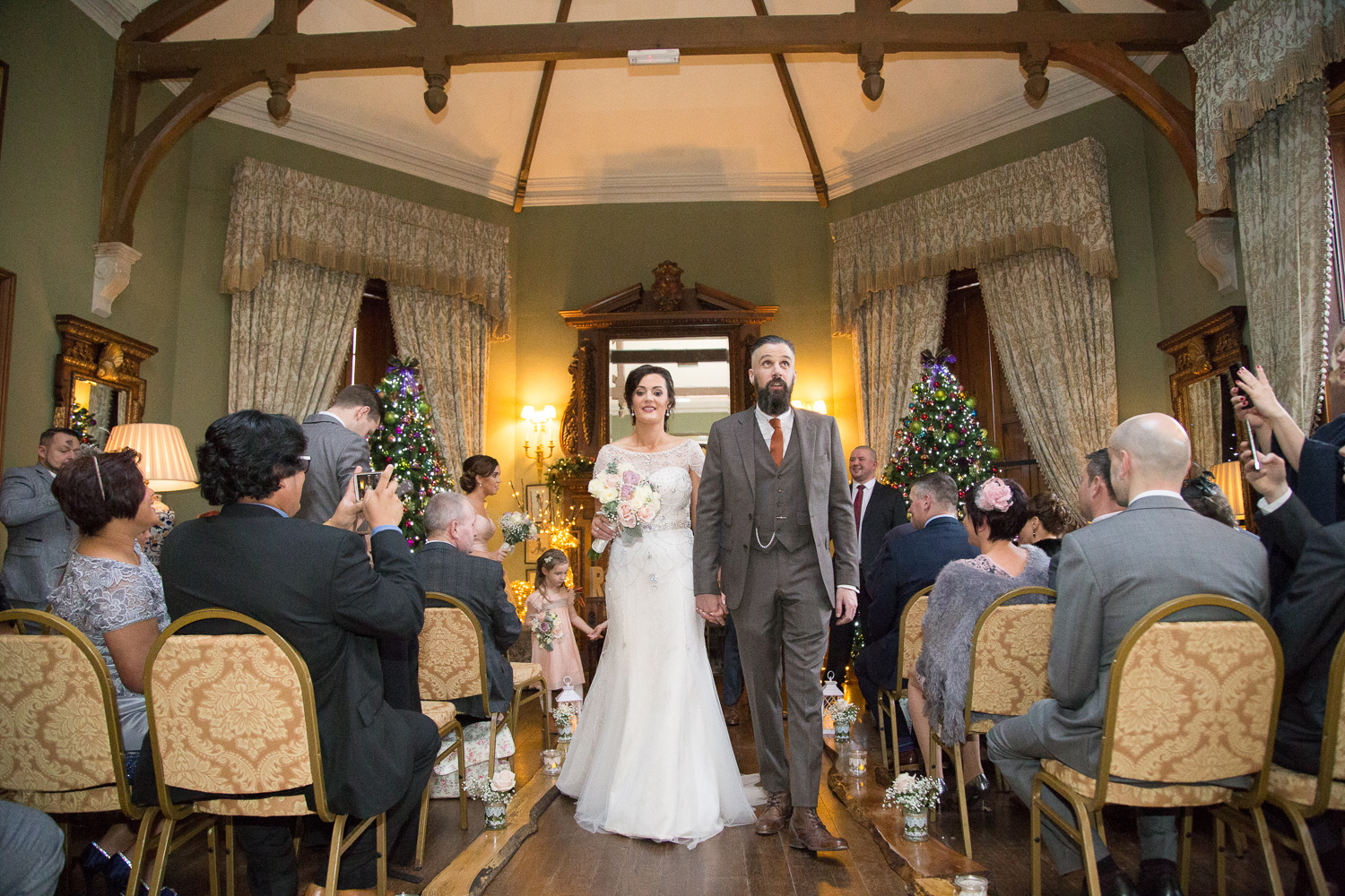 Castle Leslie Wedding Christmas