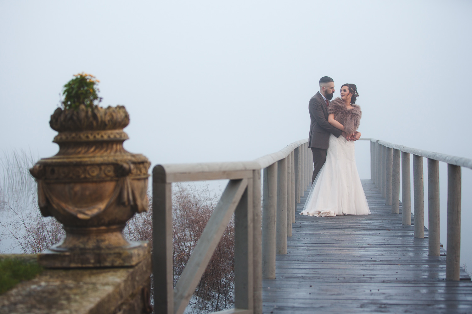 Castle Leslie Wedding Christmas Pier