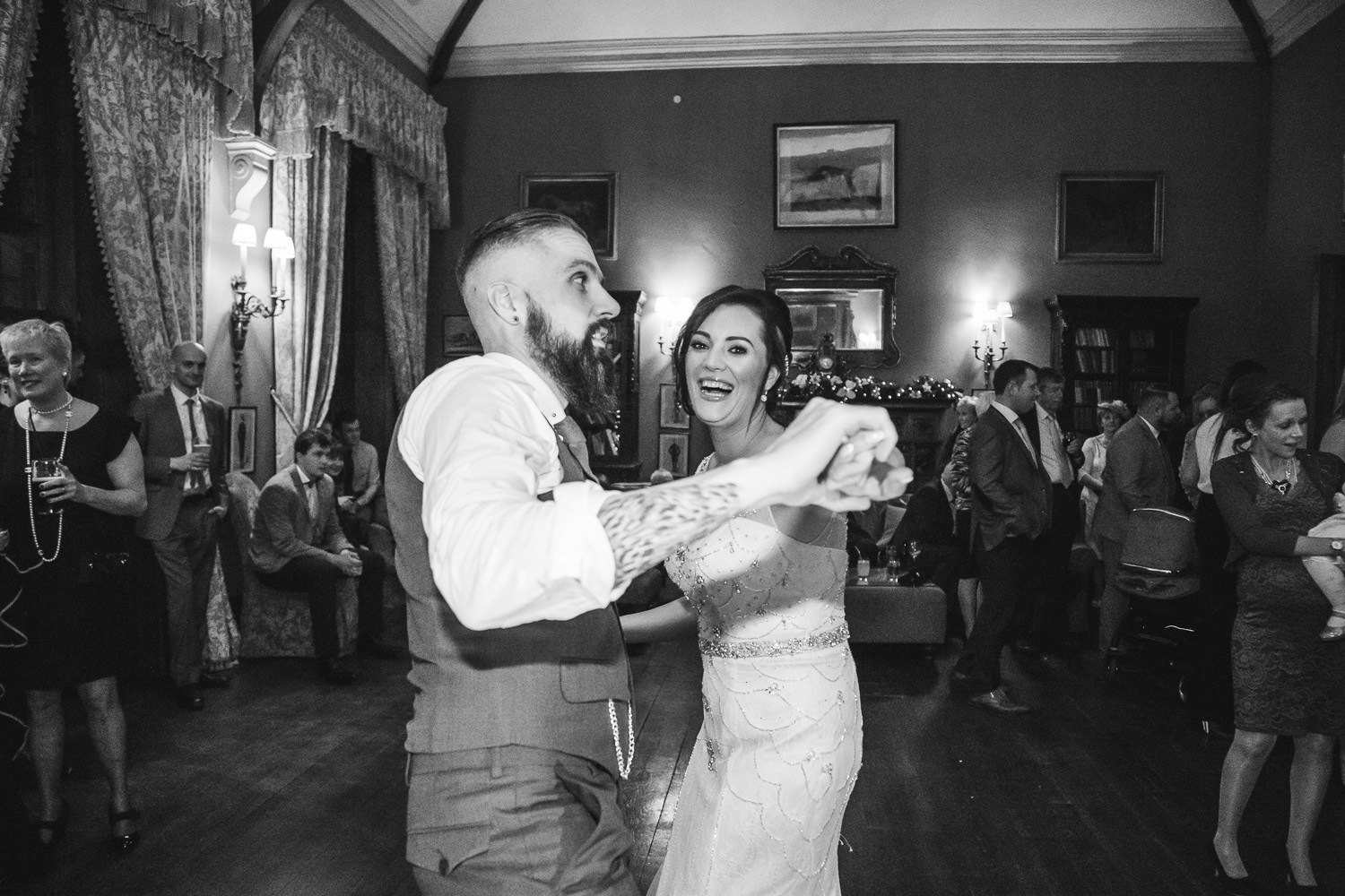 Castle Leslie Wedding Dance Christmas