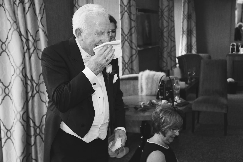 Slieve Donard Wedding Father