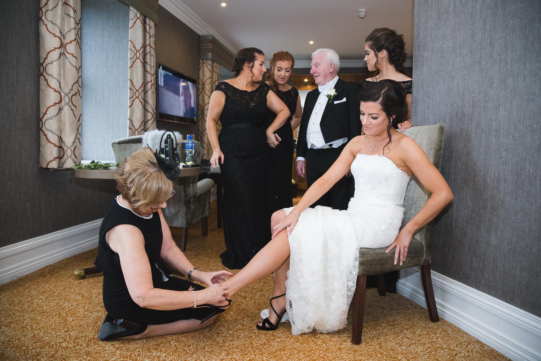 Slieve Donard Wedding Brides Family