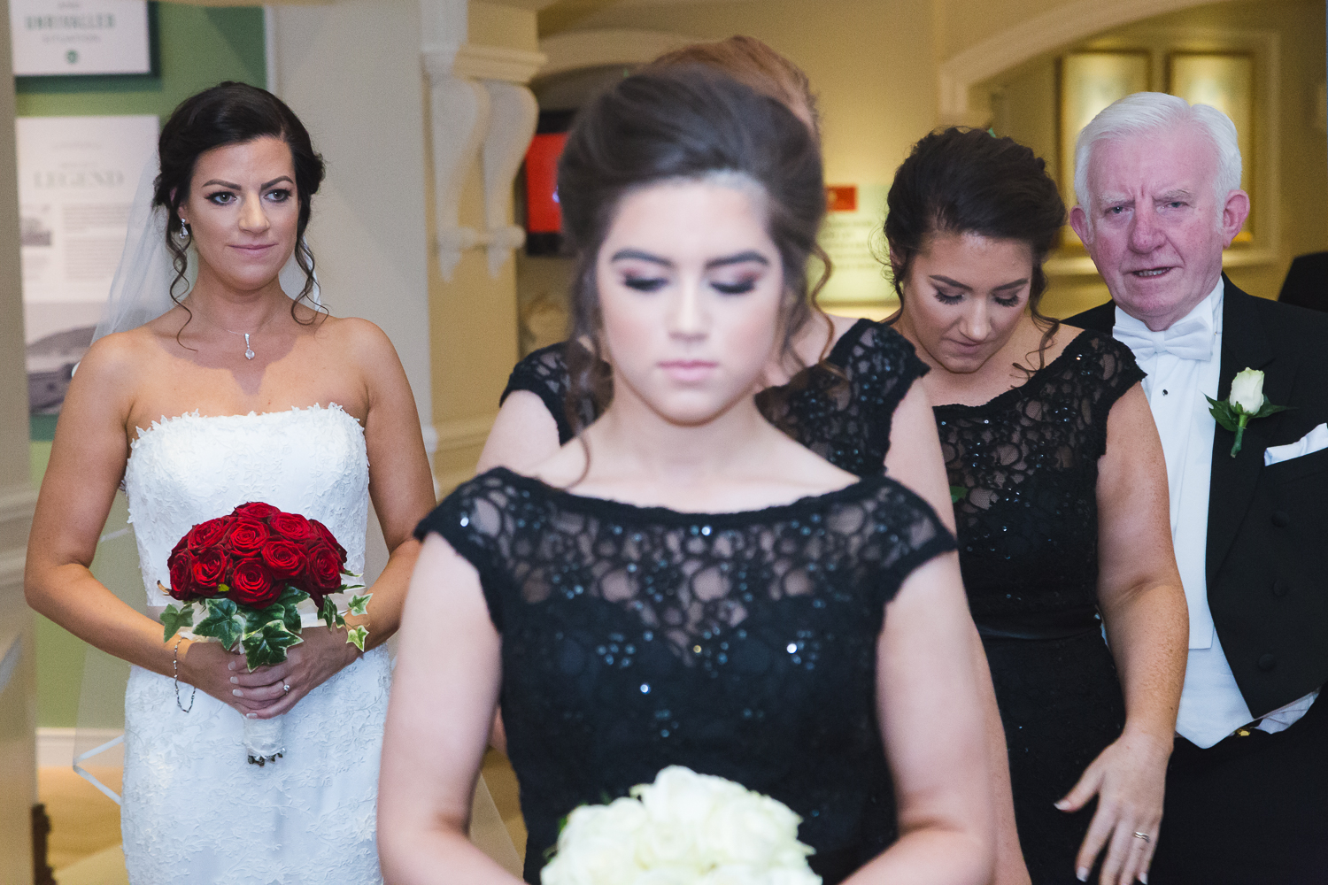 Slieve Donard Wedding Bride Family