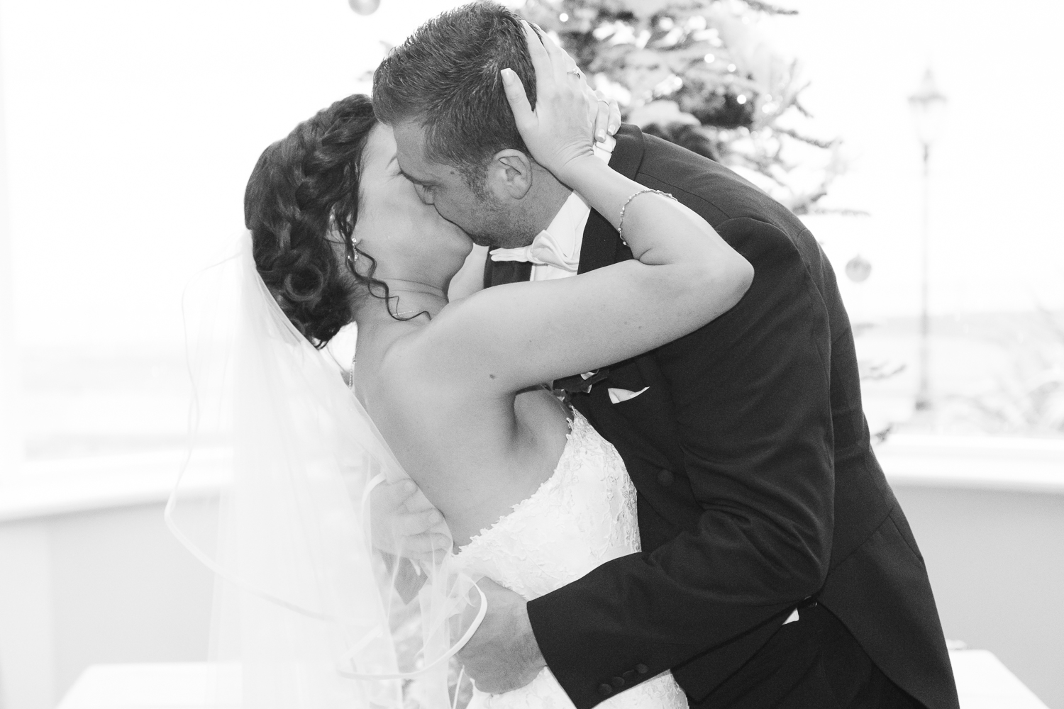 Slieve Donard Wedding Kiss