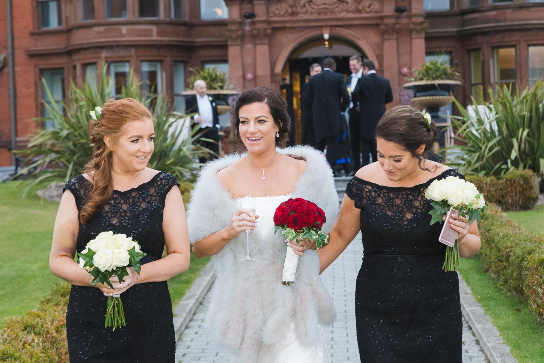 Slieve Donard Wedding Bridesmaids