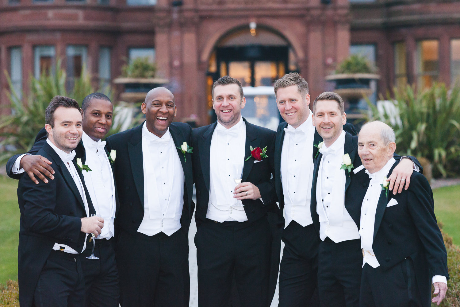 Slieve Donard Wedding Groomsmen