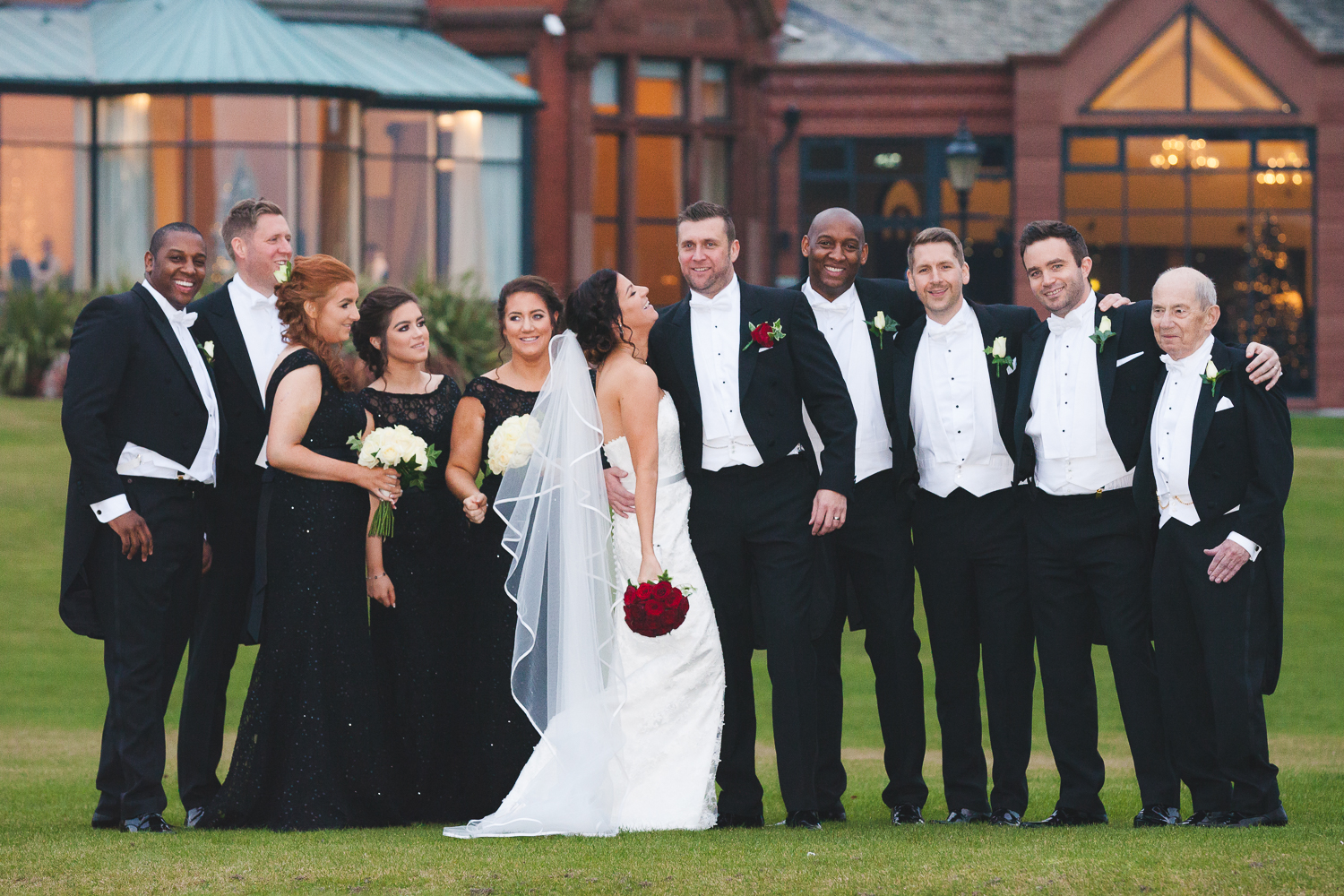 Slieve Donard Wedding Bridal Party
