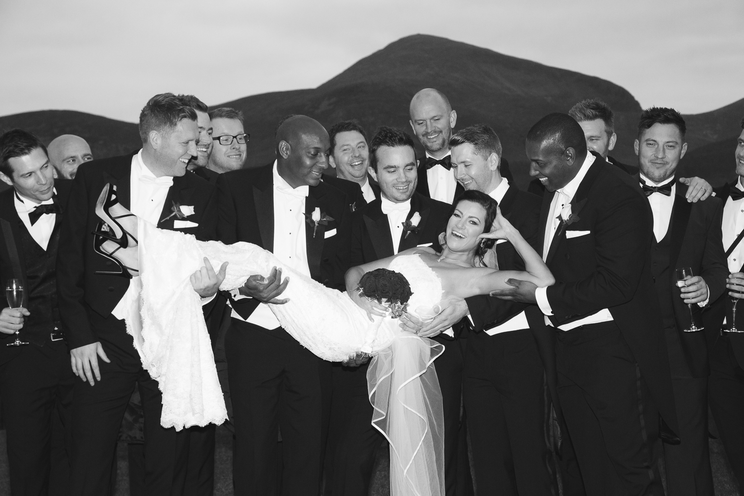 Slieve Donard Wedding Groomsmen Bride