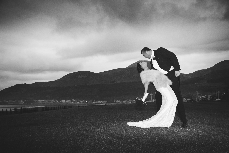 Slieve Donard Wedding Bride and Groom