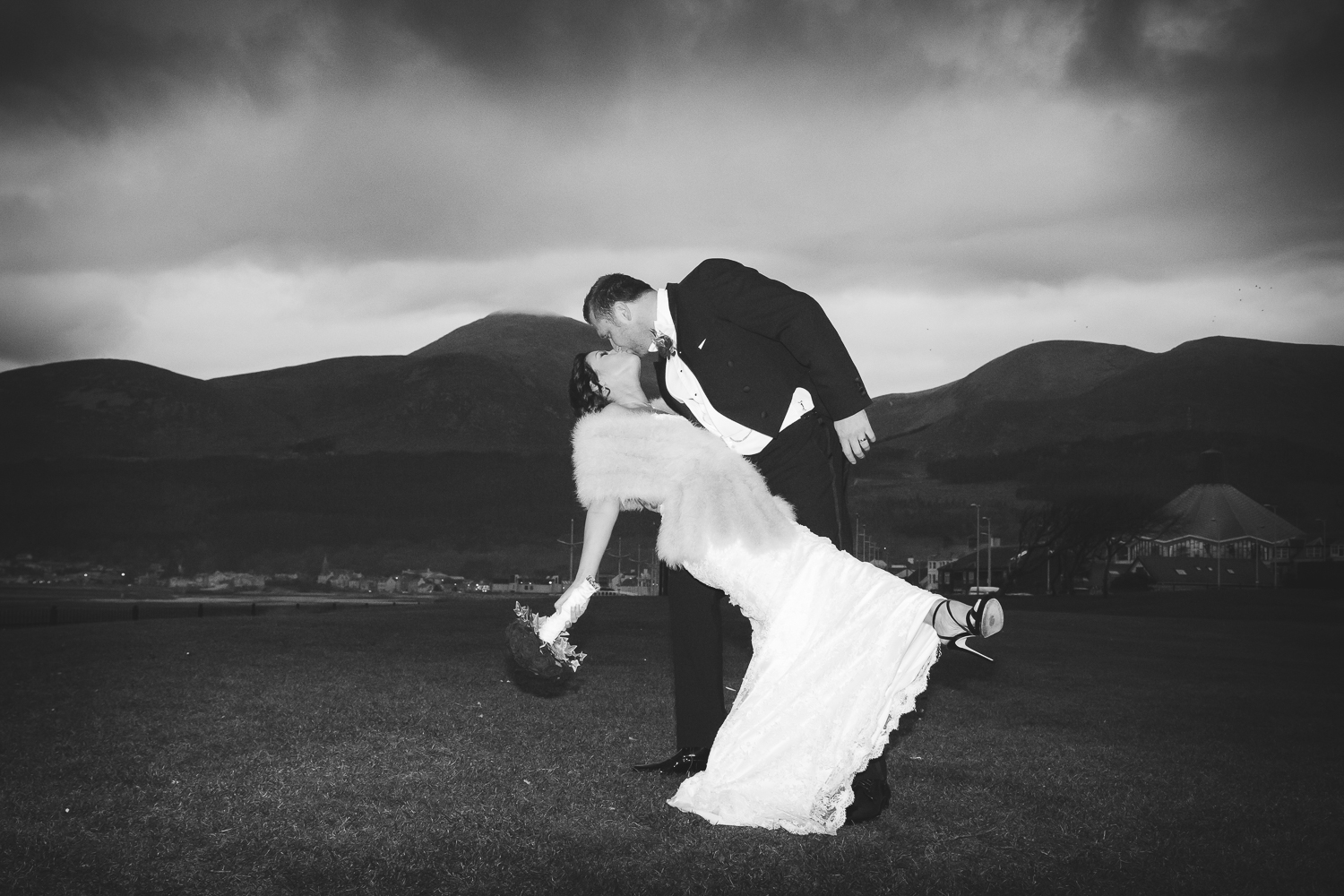 Slieve Donard Wedding Bride and Groom