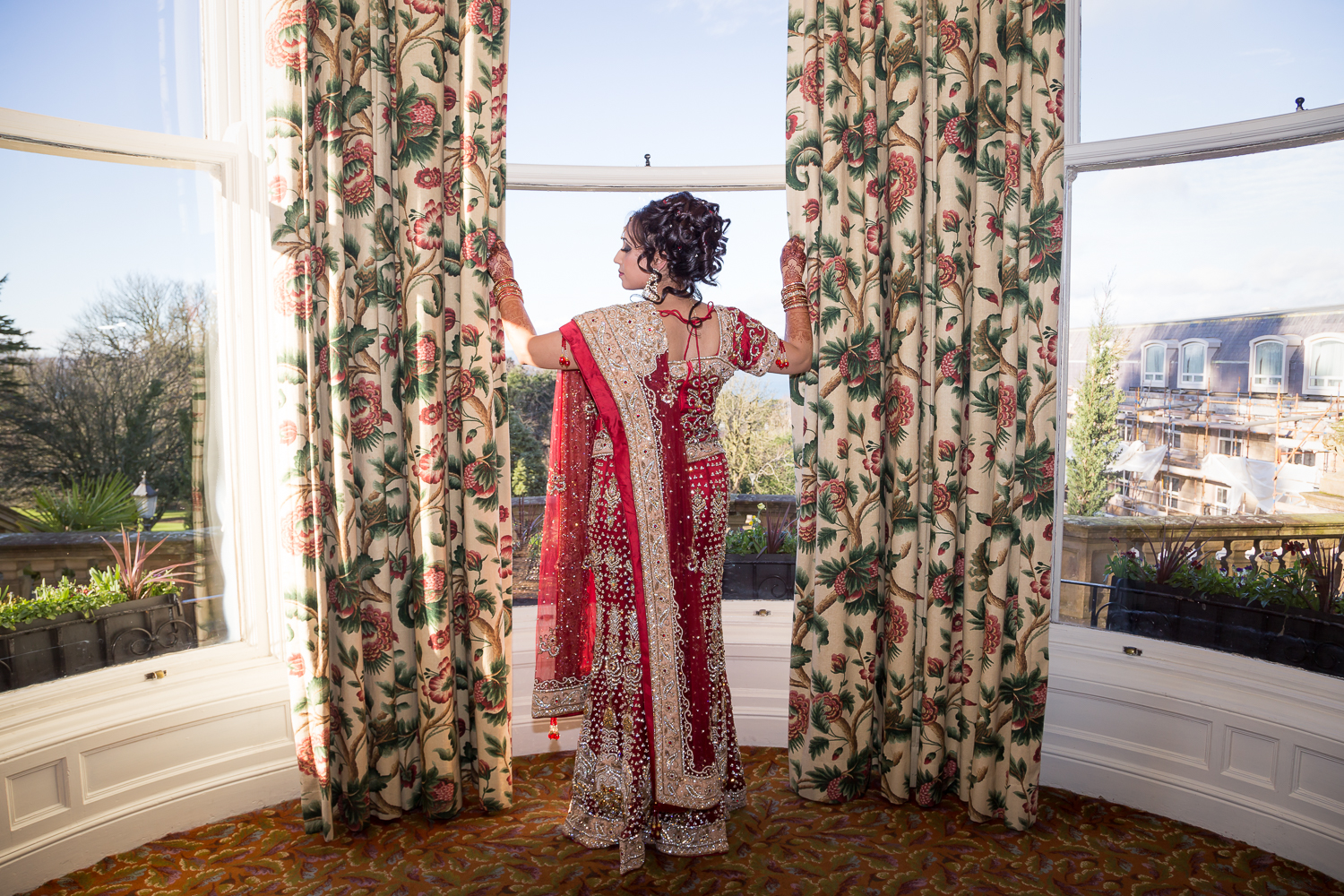 Indian Bride Red wedding dress