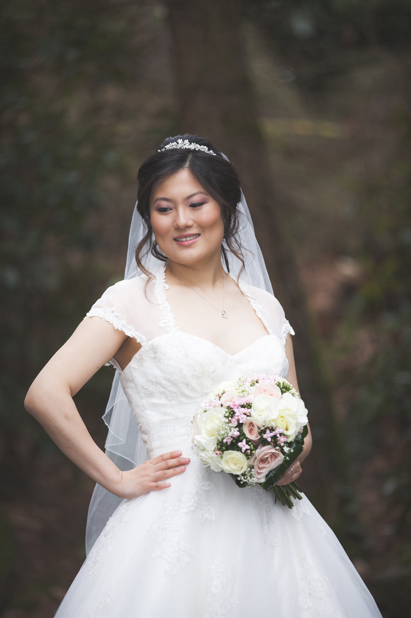 Lady Dixon Park Wedding Bride
