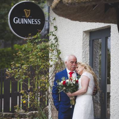 Bride and Groom Guinness Sign