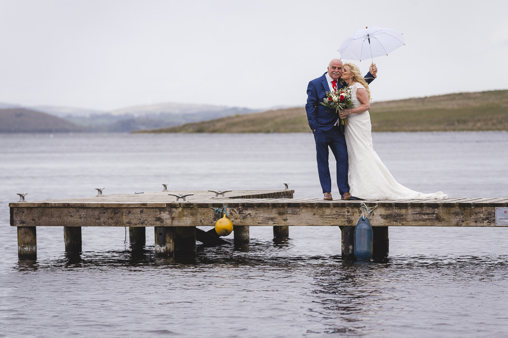 Bride and Groom Umbrella Lusty Beg