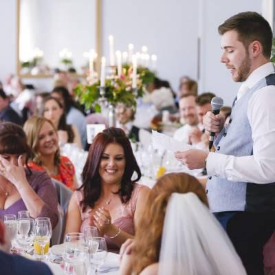 Malone House Wedding Reception