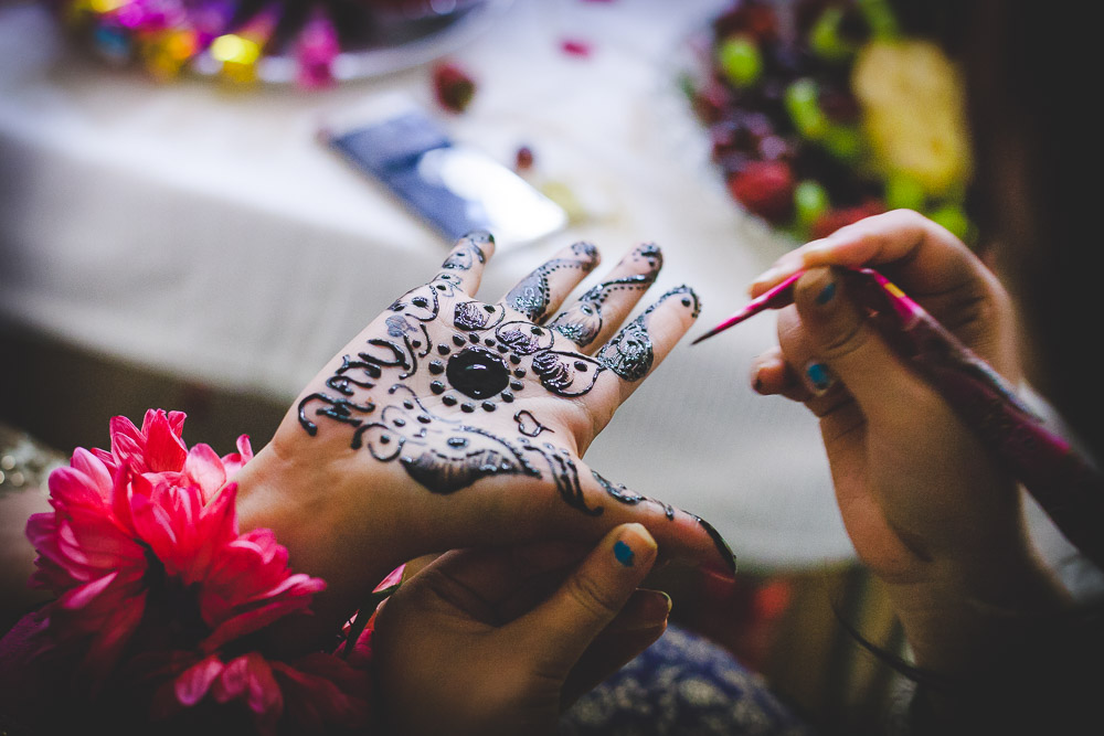 Indian Bride Mehndi Henna