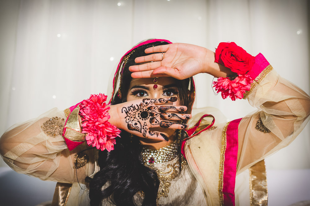 Indian Bride Mehndi Henna