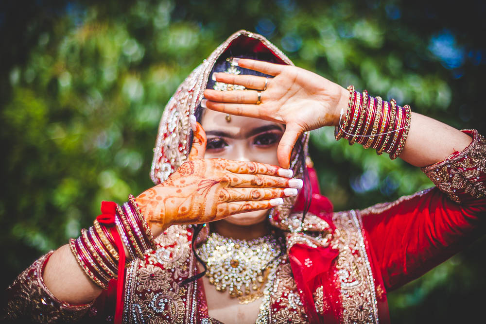 Indian Ramada Wedding Bride Henna
