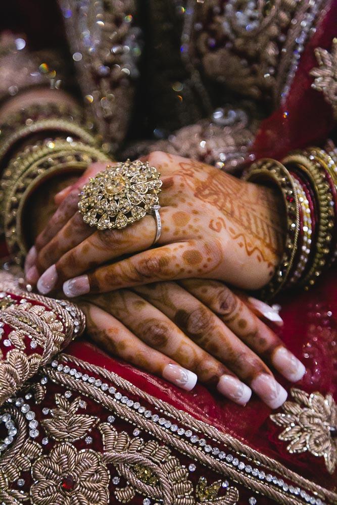 Indian Ramada Wedding Bride Henna