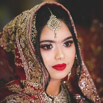 Indian Ramada Wedding Bride