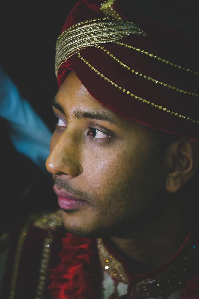 Indian Ramada Wedding Groom