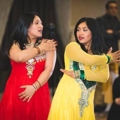 Indian Ramada Wedding Dance