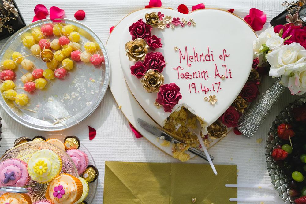 Indian Bride Mehndi Cake