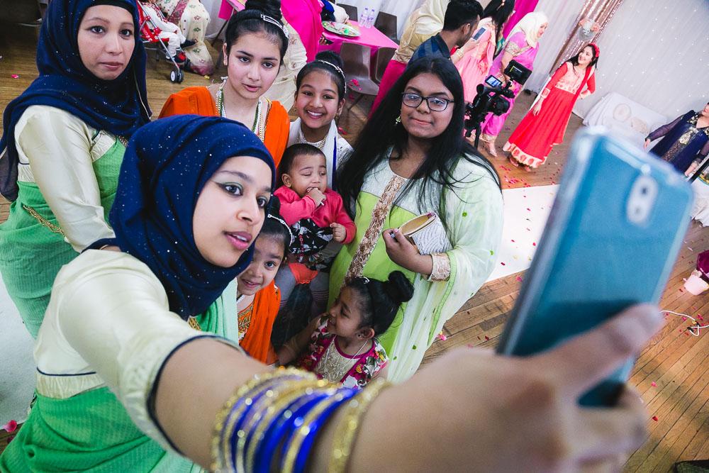 Indian Bride Mehndi Family