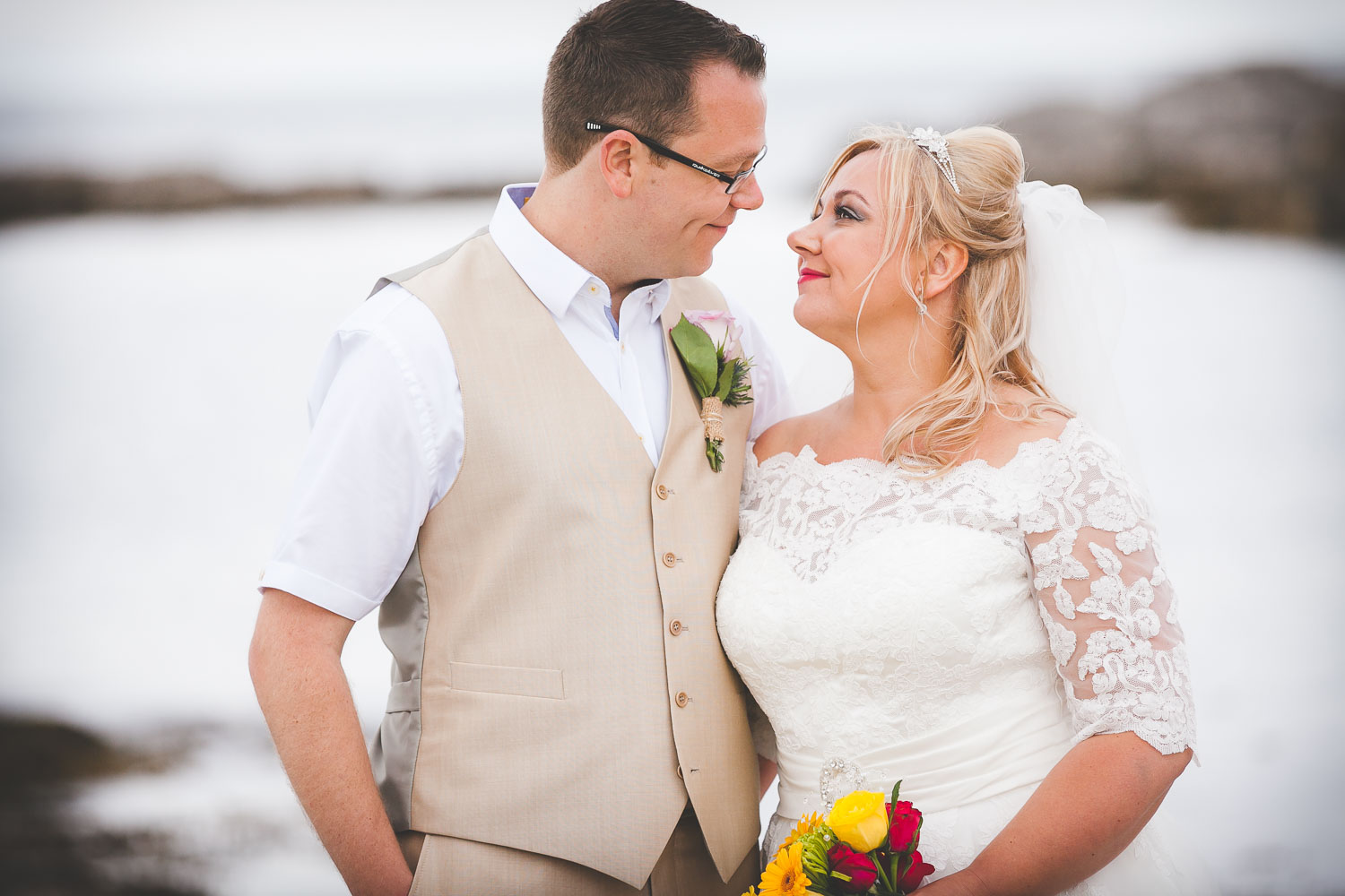 Islandmagee Beach Wedding – Michael & Lynda