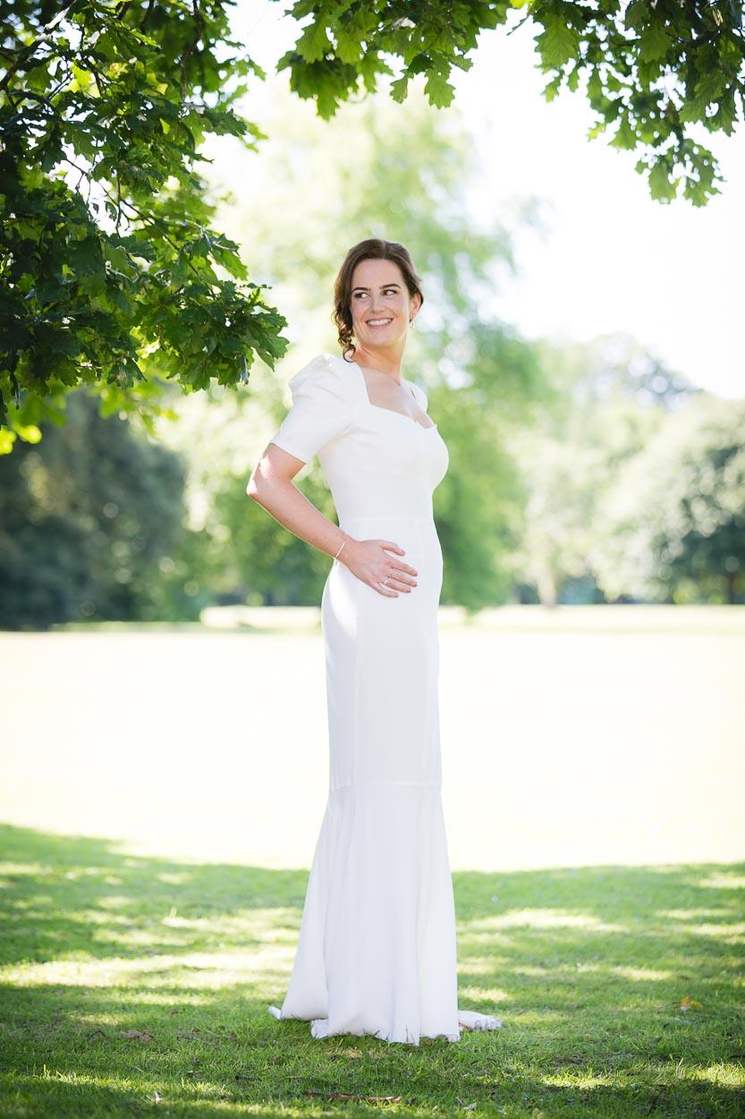 Beautiful bride's dress