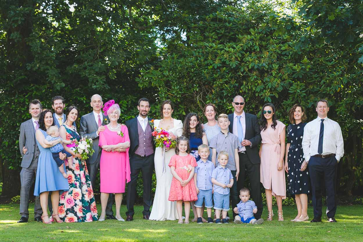 Family formal group shot