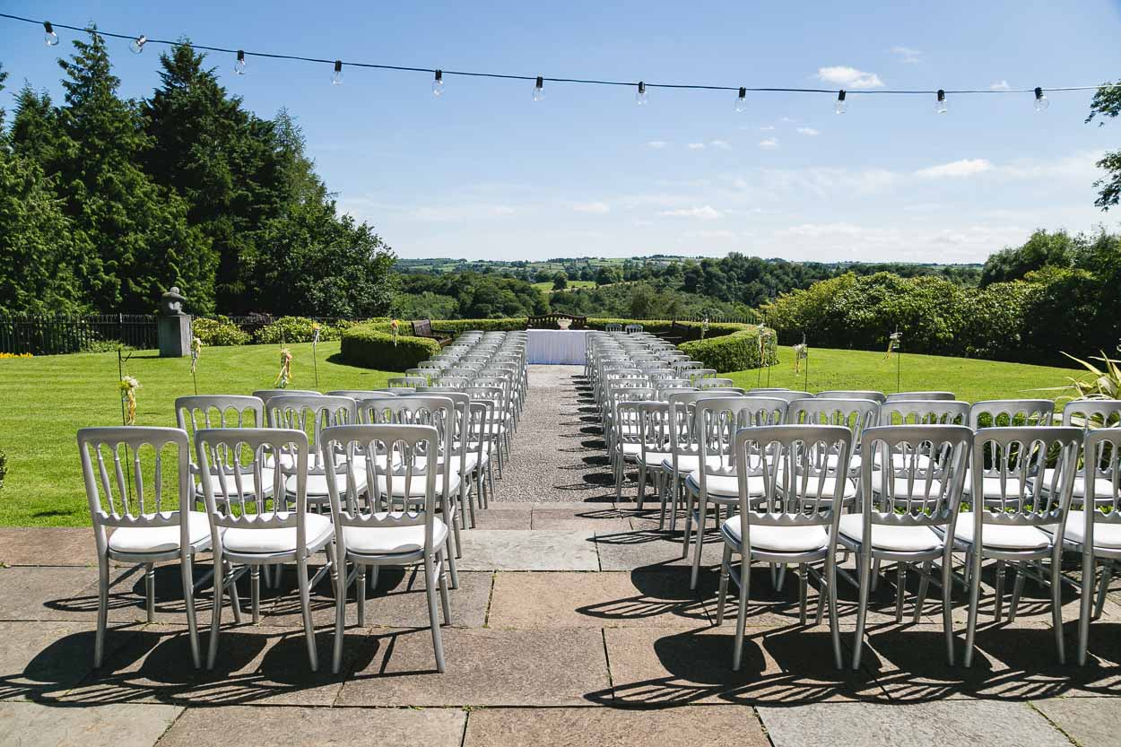Seating at Outdoor Ceremony