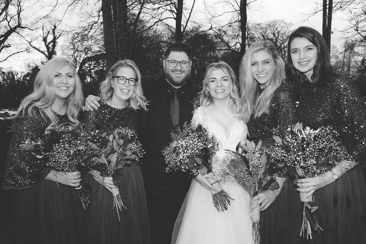 Clandeboye Lodge Wedding Bridesmaids