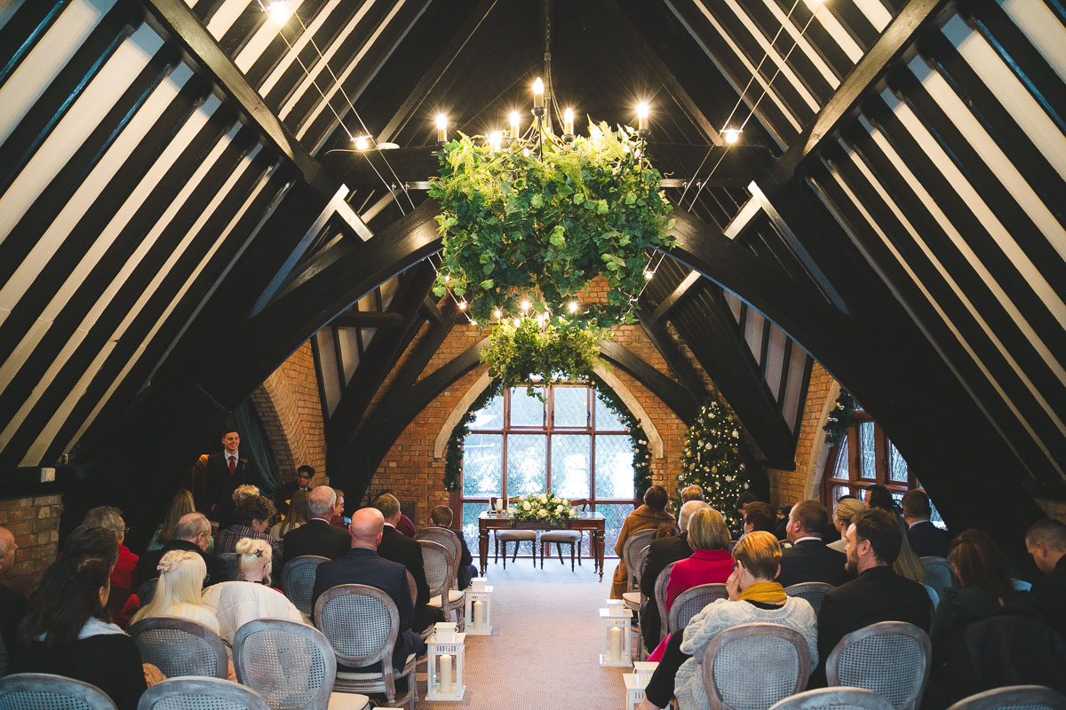 Clandeboye Lodge Wedding Room